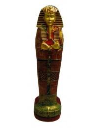 ägyptischer Sarkophag als CD Regal