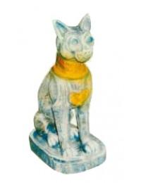 antike ägyptische Katze Steinoptik