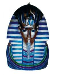 große ägyptische Büste Pharao