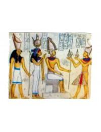 Wandgemälde Ägypten farbig