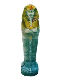ägyptischer Sarkophag Steinoptik als CD Regal