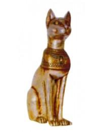 große goldfarbene Katze Ägypten