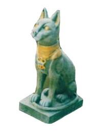 Katze Ägypten Steinoptik klein