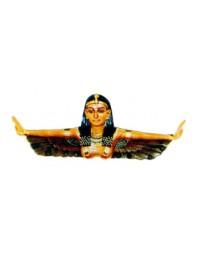 Ägypterin mit ausgestreckten Armen farbig