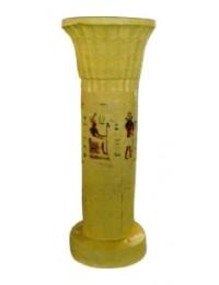 kleine ägyptische Säule mit Hieroglyphen
