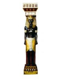 große ägyptische Säule mit Pharao