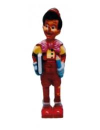 Pinocchio stehend mit Buch und Stift Variante 1