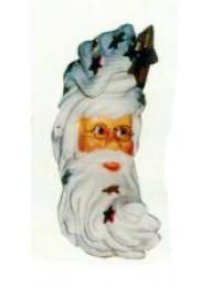 Weihnachtsmann mit langem Bart