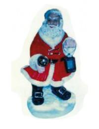stehender Weihnachtsmann mit Laterne klein