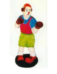 Boxer als Clown