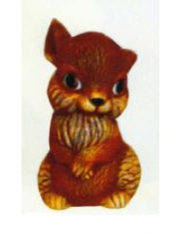 mittlerer dunkelbrauner Hamster