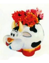 kleine dickliche Kuh zum bepflanzen