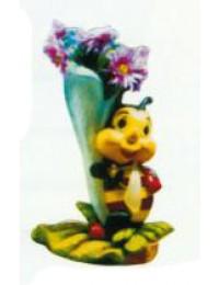 kleine Biene an Blüte zum Bepflanzen Variante 2