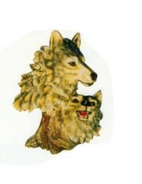 Wolfsköpfe