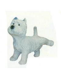 West Highland Terrier pinkelnd
