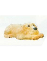Labrador liegend beige