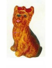 Yorkshire Terrier sitzend