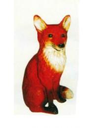 sitzender Fuchs groß