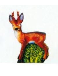 kleines Bambi Reh mit Geweih