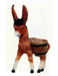 kleiner Esel mit Körbchen