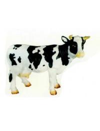 kleine Kuh schwarz weiß