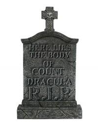 Kreuz Grabstein Graf Dracula