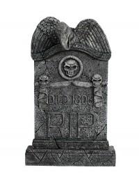 Geier Grabstein mit Totenköpfen (Variante 2)