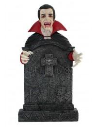 Dracula Grabstein mit Kreuz