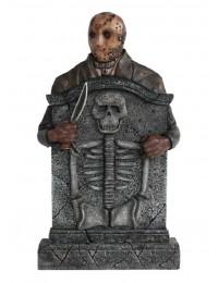 Jason Voorhees Grabstein mit Skelett