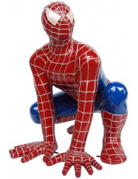 Spiderman hockend