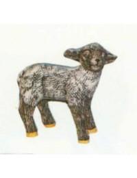 kleines stehendes Schaf schwarz Variante 1