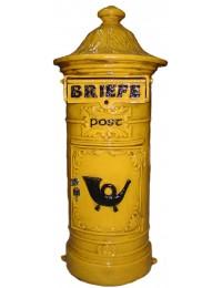 Briefkasten Mailbox gelb