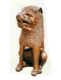 antiker chinesischer Löwe