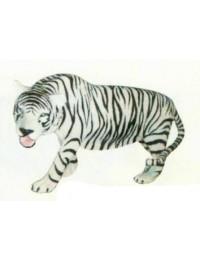 laufender Tiger weiß