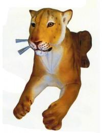 liegende Löwin