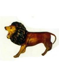 kleiner brüllender Löwe naturell