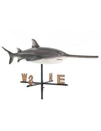Sägefisch Windrichtungsanzeiger