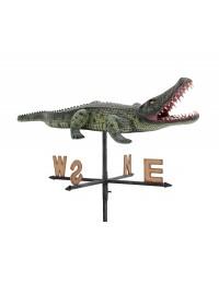 Krokodil klein 2 Windrichtungsanzeiger