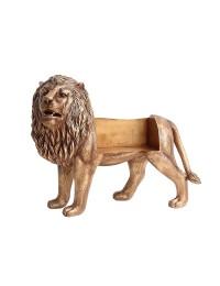 Goldene Löwenbank
