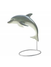 Delfin Fontäne auf Ständer