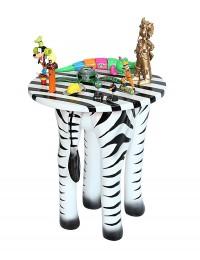 Tisch Zebra für Kinder