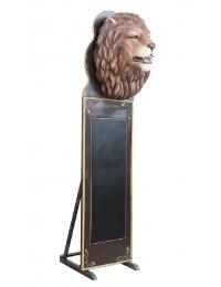 Löwenkopf Angebotstafel