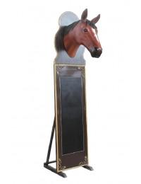 Pferdekopf Angebotstafel