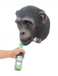 Affenkopf mit Zigarre Flaschenöffner