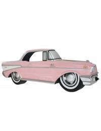 Wanddeko Chevy Rosa