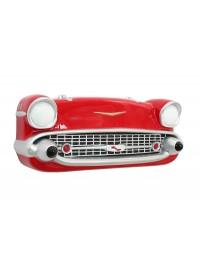 Wanddeko Chevy Front Rot