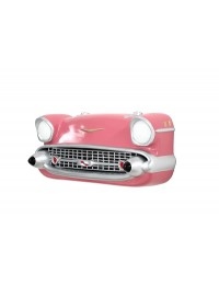 Wanddeko Chevy Front Rosa