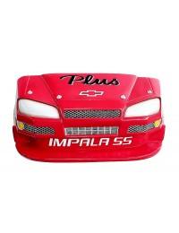 Wanddeko Chevy Impala Rot