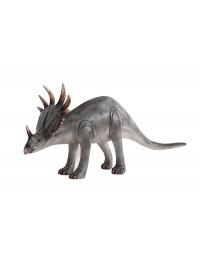 Dinosaurier Triceratops klein grau