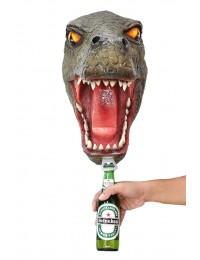Dinosaurier Tyrannosauruskopf Flaschenöffner